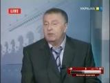 Жириновский на Украинском телеканале 22.09.2008.